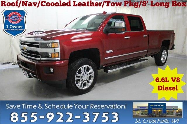 Pre Owned 2018 Chevrolet Silverado 2500hd High Country Crew Cab 6 6l V8 Diesel 4wd