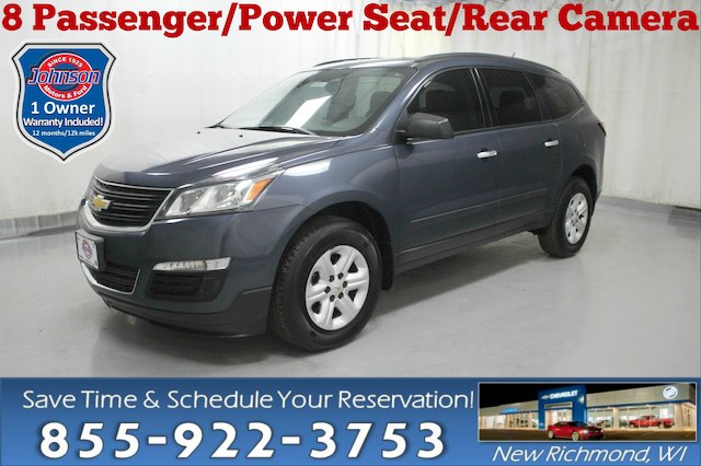 Pre Owned 2013 Chevrolet Traverse Ls Suv In New Richmond 908007