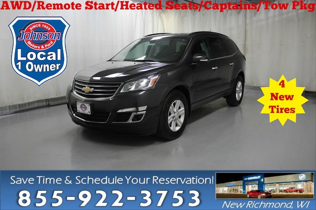 Pre Owned 2013 Chevrolet Traverse 2lt Suv In New Richmond 907980
