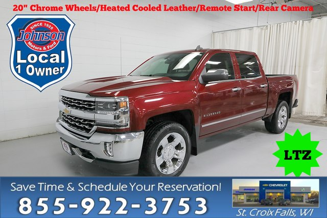Certified Pre-Owned 2016 Chevrolet Silverado 1500 LTZ w/1LZ