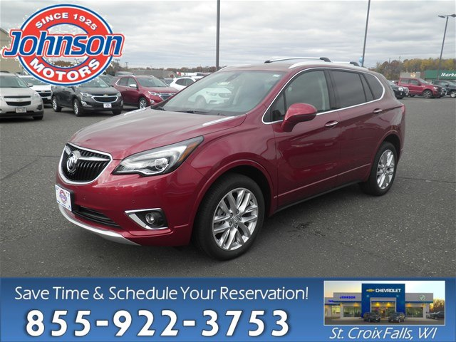 New 2019 Buick Envision Premium Suv In New Richmond 21459 Johnson