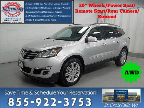 Certified Pre-Owned 2015 Chevrolet Traverse LT w/1LT