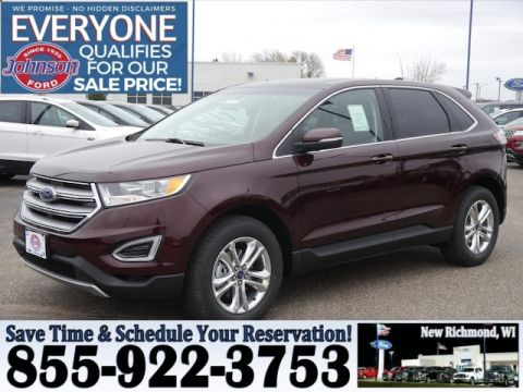 New  Ford Edge Sel Suv In New Richmond  Johnson Motors Ford