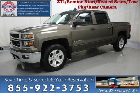 Certified Pre-Owned 2015 Chevrolet Silverado 1500 LT w/2LT