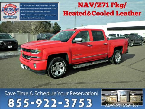 Certified Pre-Owned 2016 Chevrolet Silverado 1500 LTZ w/2LZ